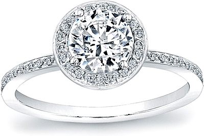 Diamond Halo Engagement Ring Settings